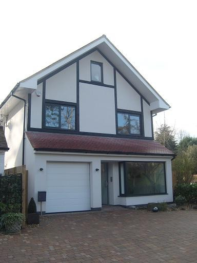 Purley – new build – front elevation
