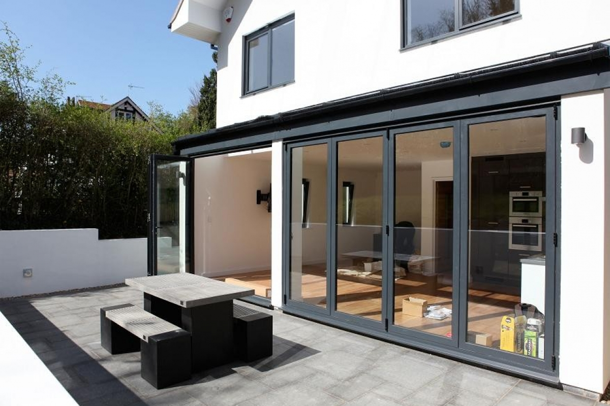 Purley – new build – rear elevation