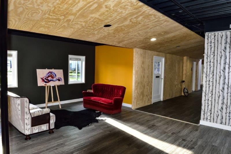 Studio P1 – reception-waiting area